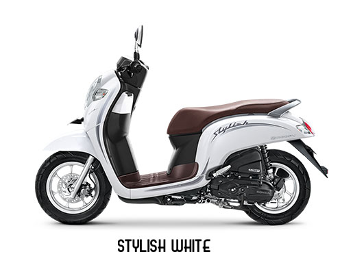 Warna Scoopy 2019 Stylish Putih