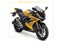 Yamaha R15 Warna baru Kuning