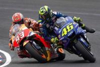 Insiden MotoGP Argentina Rossi dan Marquez