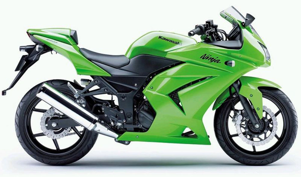 Kawasaki Ninja 250 tahun 2008