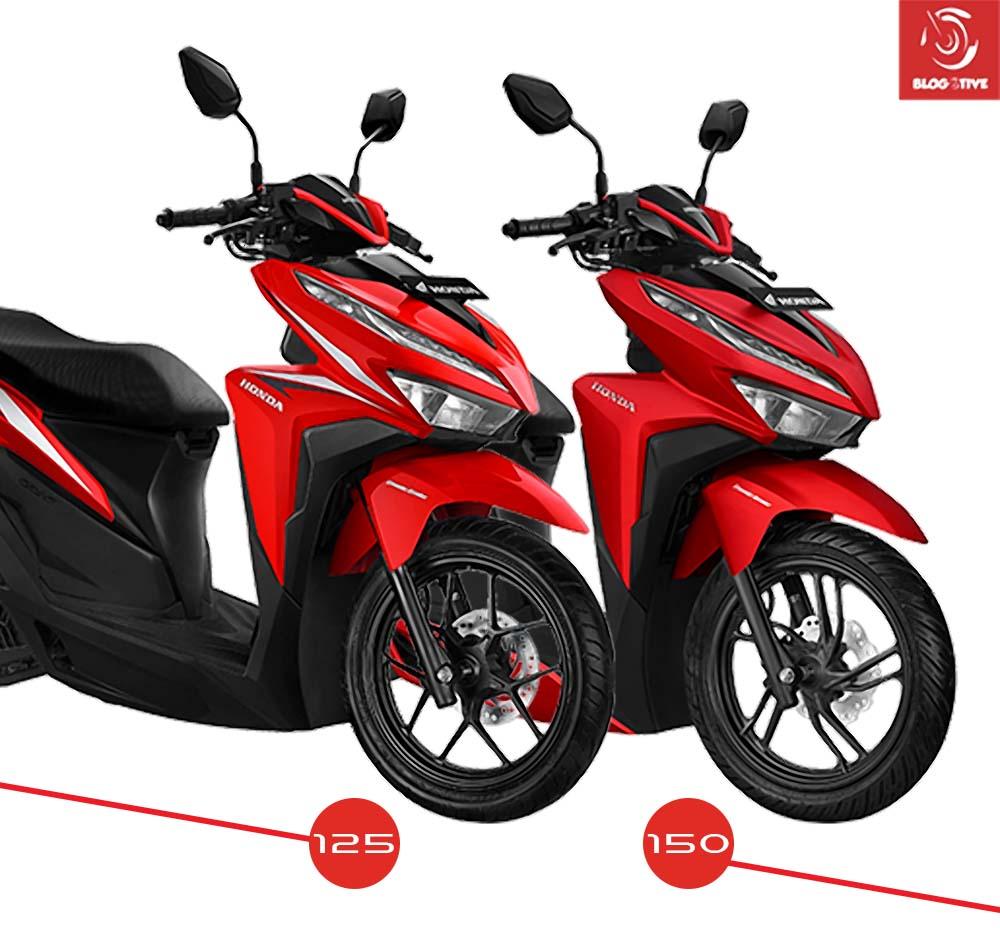 Perbedaan Honda Vario 125 dan Vario 150 terbaru