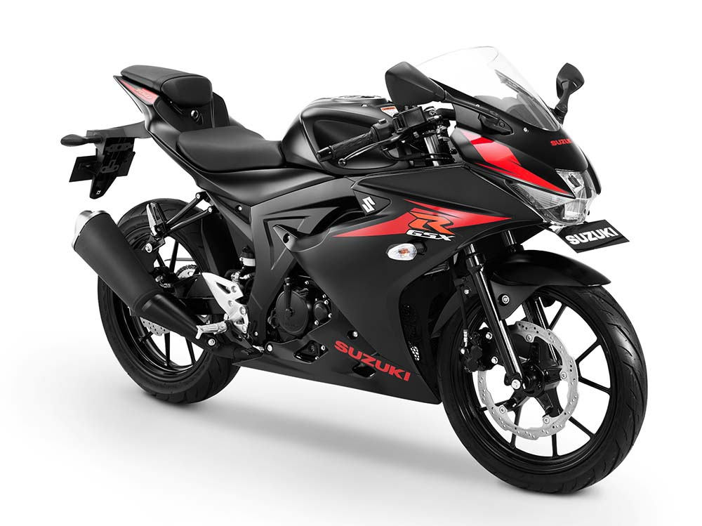 Warna GSX-R150 Shuttered Key - Hitam
