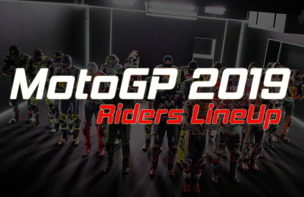 Line Up Pembalap MotoGP 2019