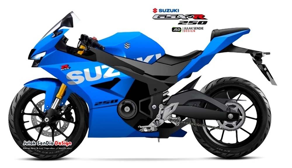 Render Suzuki GSX-R250 Julak Sendie