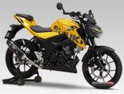 Render Suzuki GSX-S150 warna Kuning