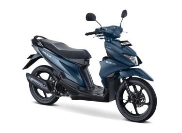 Warna Suzuki NEX II Elegant Mat Stellar Blue
