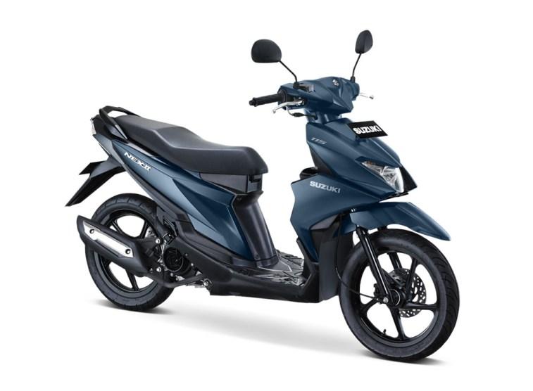 Warna Suzuki NEX II Elegant Premium Mat Stellar Blue