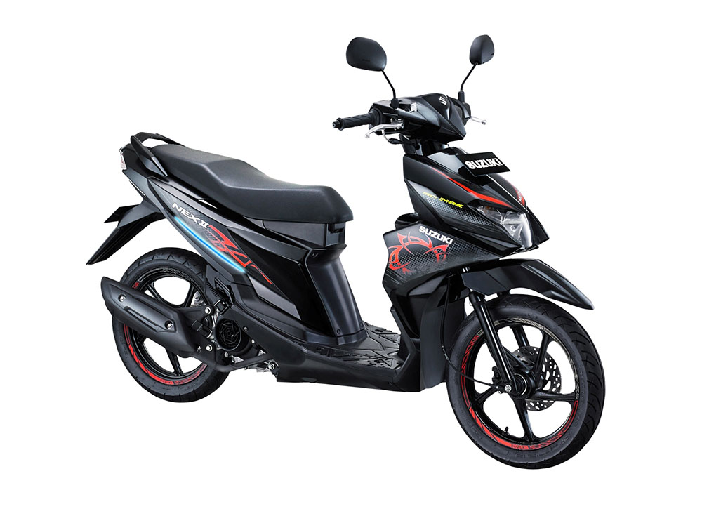 Warna Suzuki NEX II Fancy Dynamic Titan Black