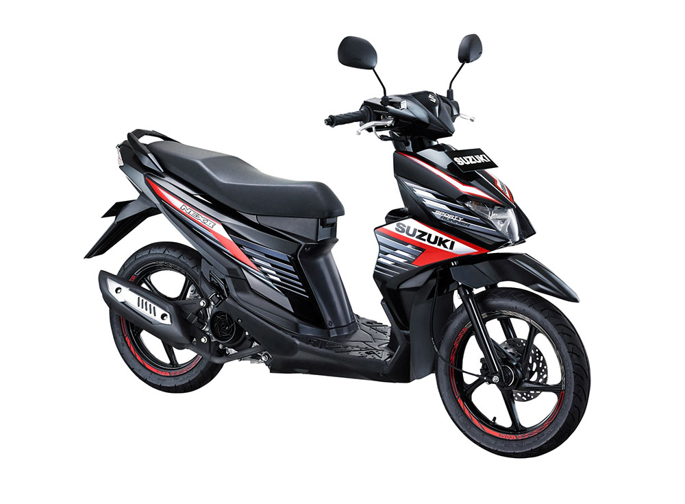 Warna Suzuki NEX II Sporty Runner Titan Black