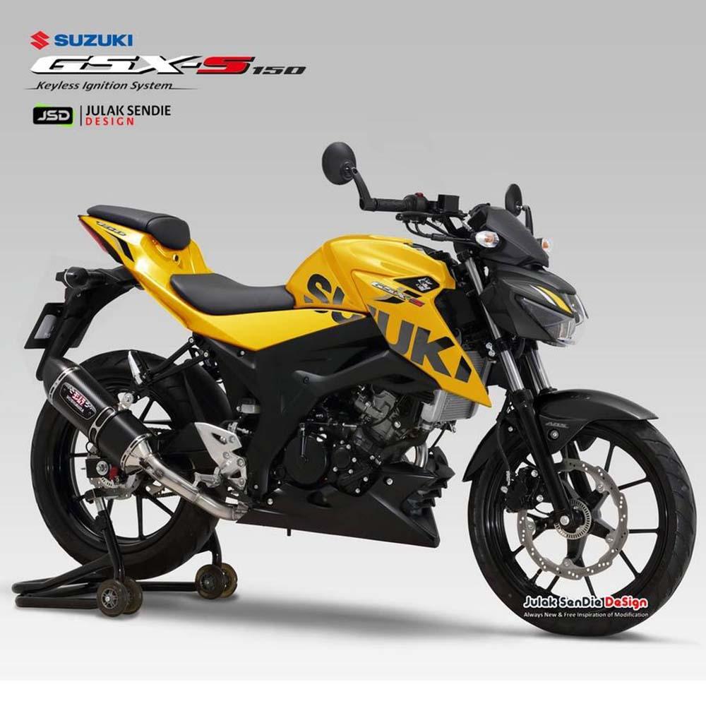 Warna baru Suzuki GSX-S150 Kuning