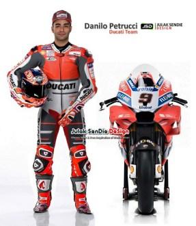 Danilo Petrucci ke Ducati
