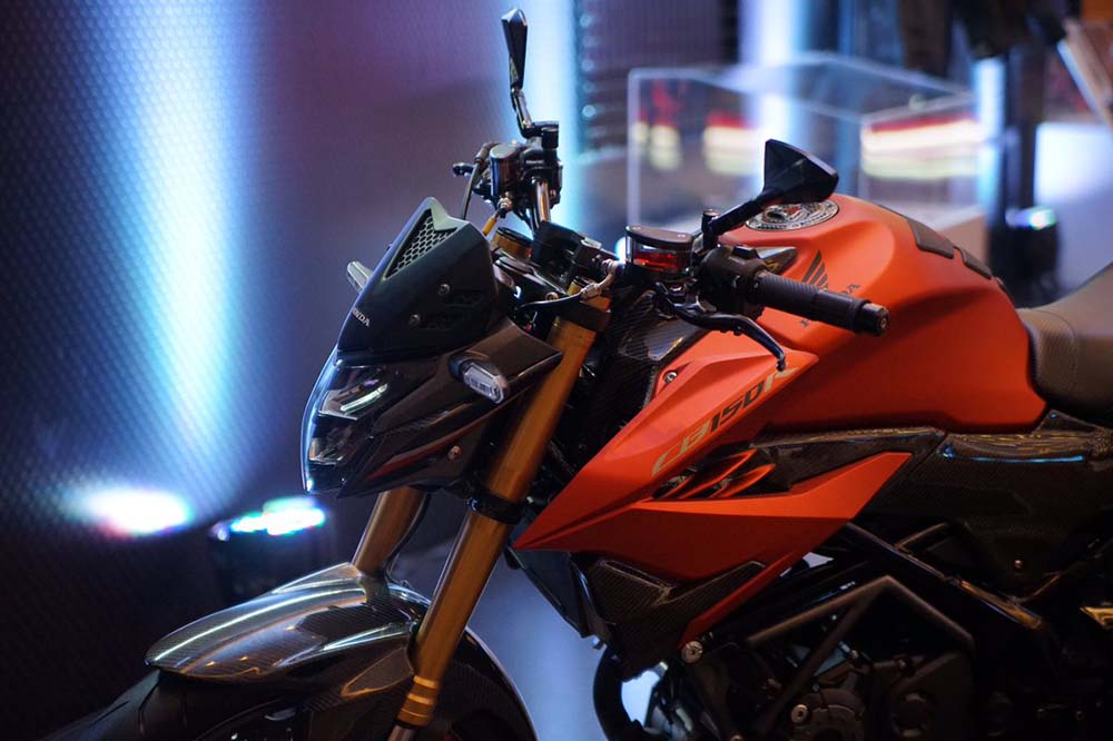 Modifikasi CB150R facelift Suspensi Up-Side Down