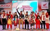 Astra Motor Yogyakarta di Kontes Layanan Honda Nasional 2018