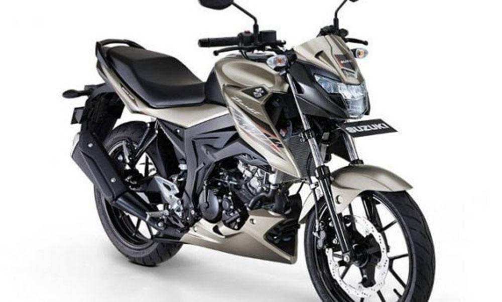 Suzuki Bandit tampak depan, mirip Satria