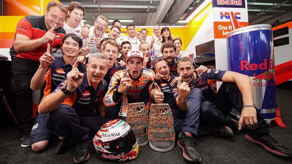 Marc Marquez semakin dekat dengan juara MotoGP 2018