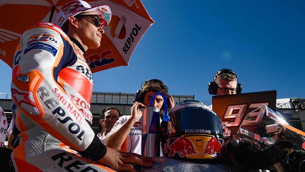 Marquez juara MotoGP Aragon