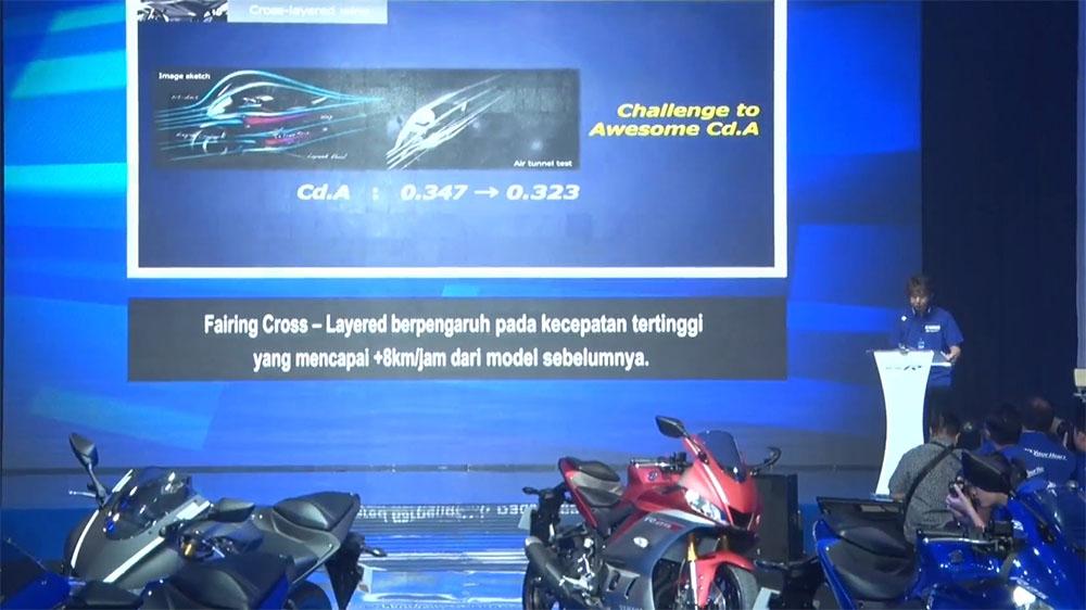 New Yamaha R25 terbaru lebih cepat 8 kmpj daripada sebelumnya meski mesinya sama