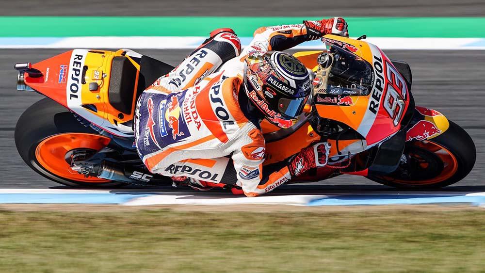 Posisi Start MotoGP Jepang 2018, Marquez start posisi ke-6