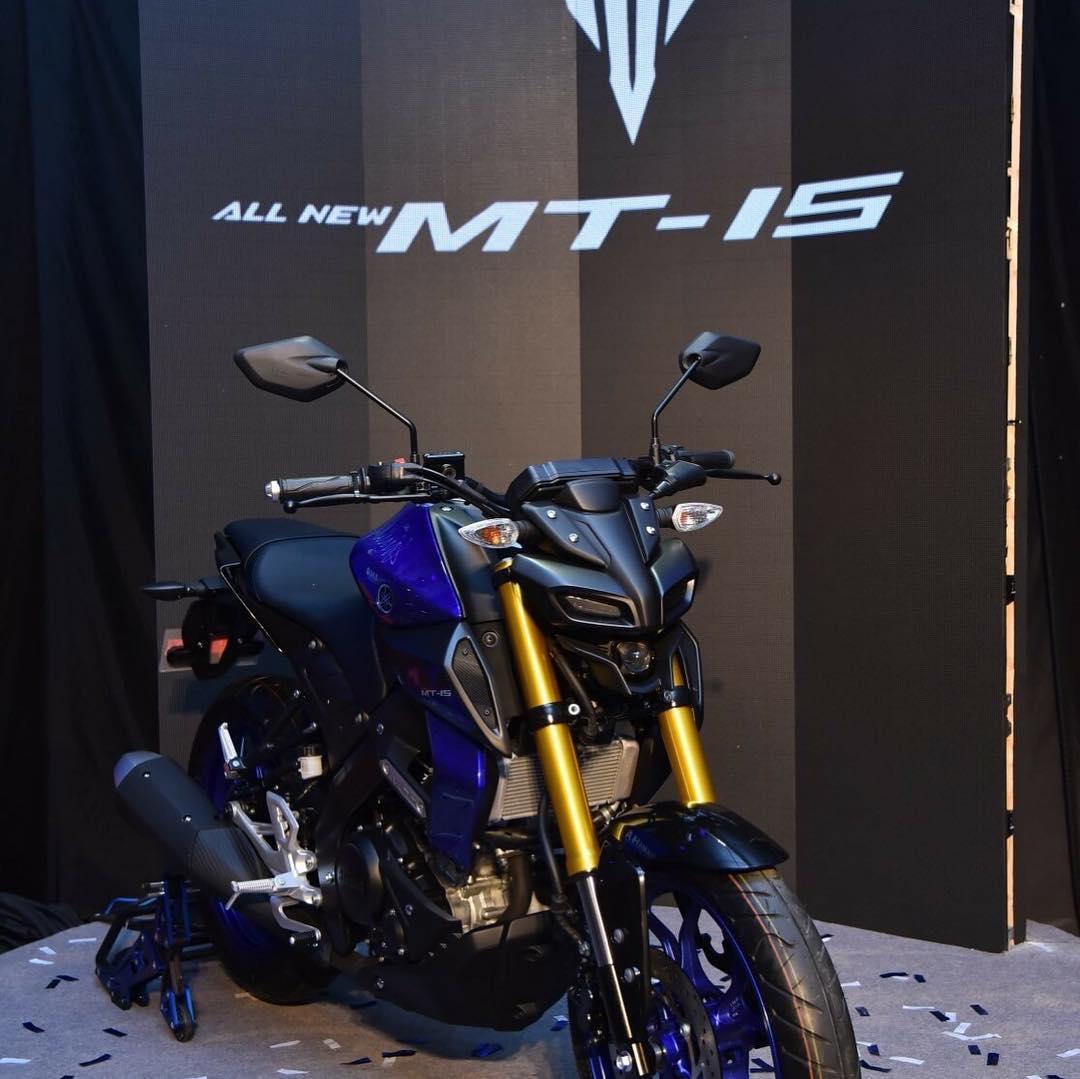 Yamaha MT-15 punya spesifikasi mesin identik R15