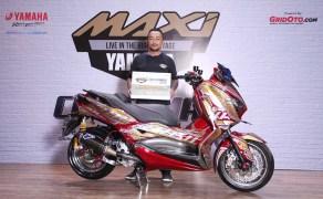 Juara Modifikasi Master Class XMax 250 CustoMAXI Yamaha 2018 Yogyakarta