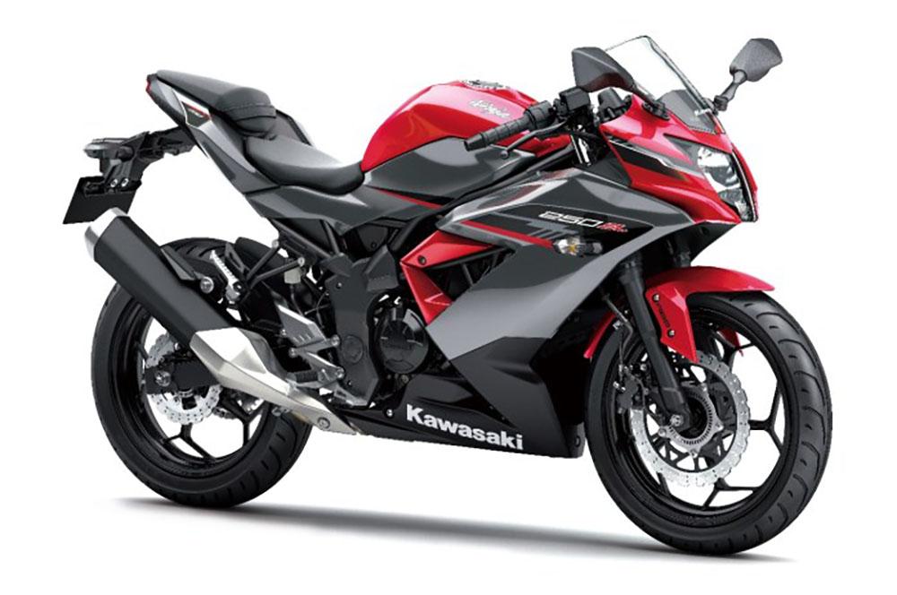 Kawasaki Ninja 250SL Warna Merah