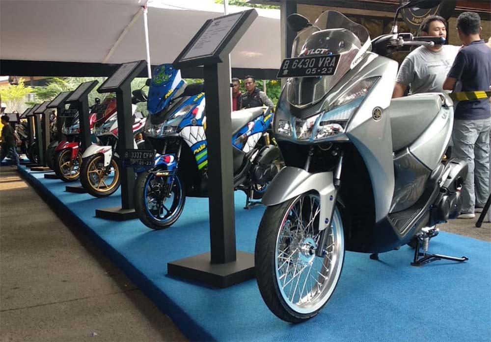 Modifikasi Yamaha Lexi 125 Di CustoMAXI Bekasi Sebelum