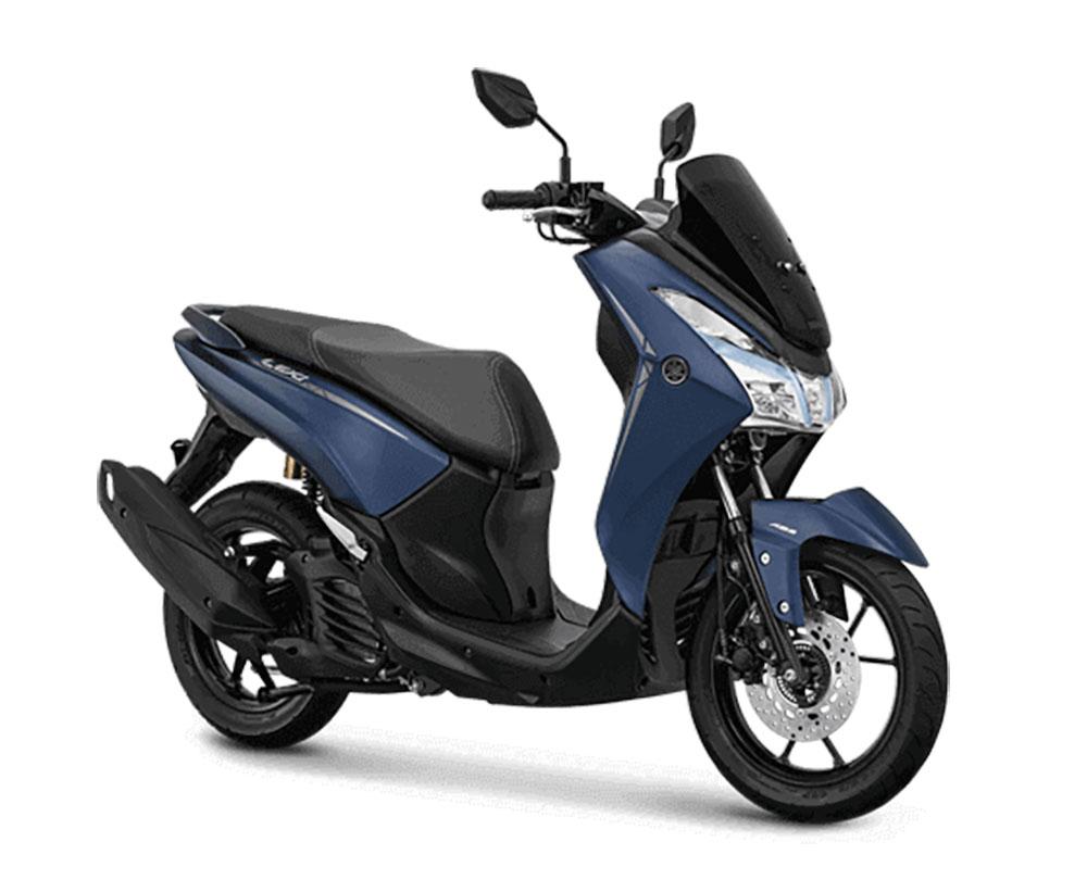 Yamaha Lexi S ABS biru doff