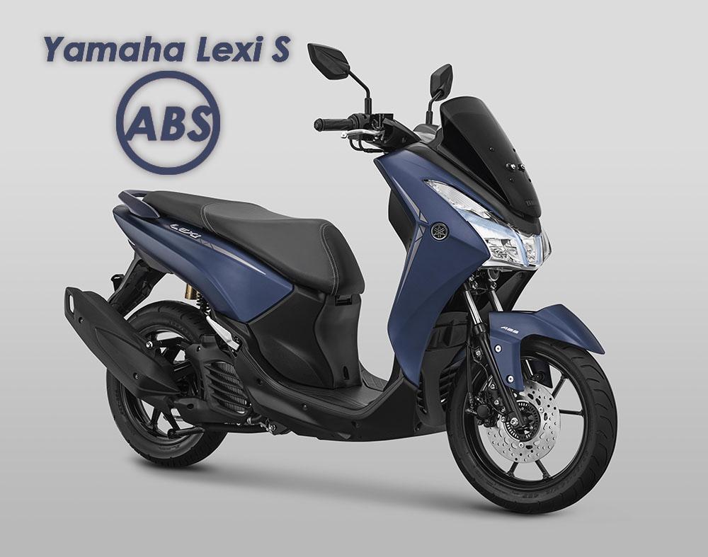 Yamaha Lexi S ABS resmi dirilis