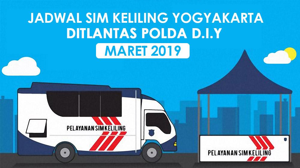 Jadwal Lokasi SIM Keliling Jogja Maret 2019