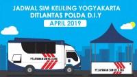 Jadwal Lokasi SIM Keliling Jogja April 2019