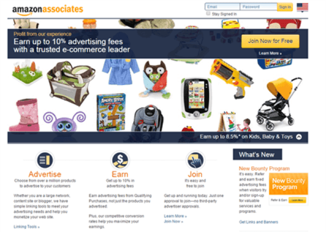 Amazon (Pay Per Lead Network)