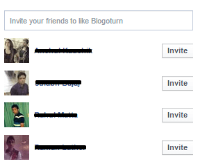 Invite All Friends on Facebook With a Single Click