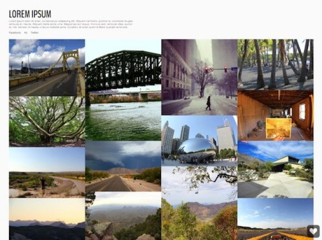 Best Gallery Tumblr theme -Live 2.0