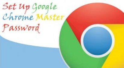 How to Set Up Google Chrome Master Password