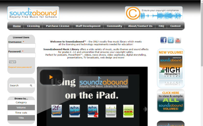 Soundzabound Unblocked Music Site