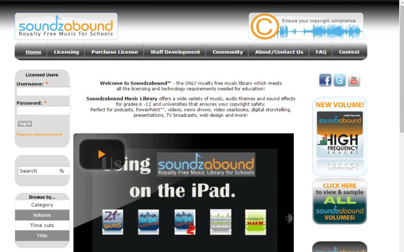 Soundzabound Unblocked Music Site
