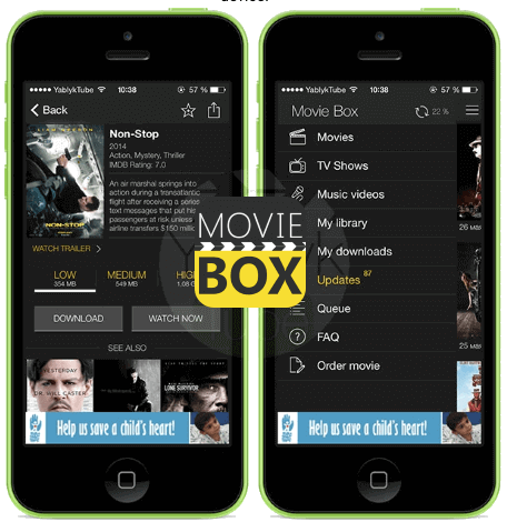 Showbox for iPhone/iPad