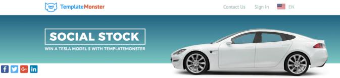 Social Stock Template Monster