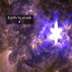 """""""In a nutshell"""" about Aurora –2a. Flares vs  CME: scontro di Titani"""