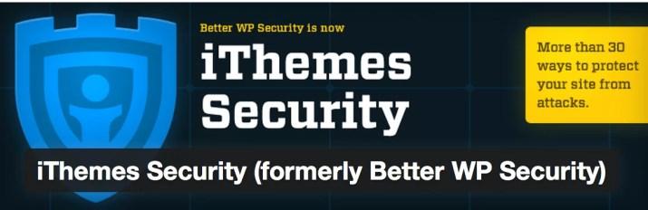 Los 40 mejores plugins de WordPress (iThemes Security)