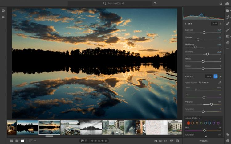 Aplikasi Edit Foto Laptop Lightroom