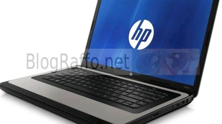 Notebook HP 630 sostituzione HD e RAM