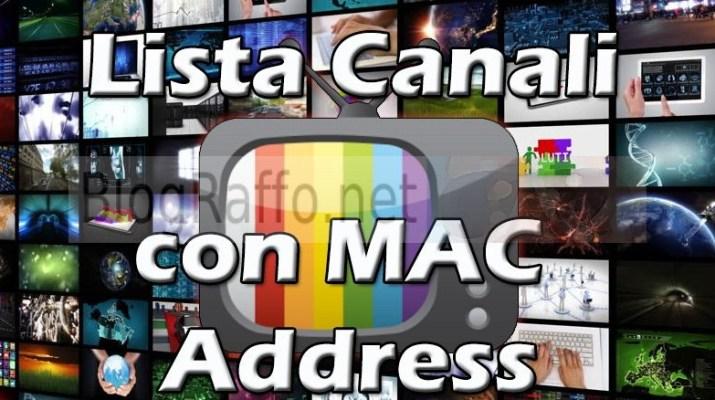 IPTV Extreme come inserire lista canali tramite indirizzo MAC