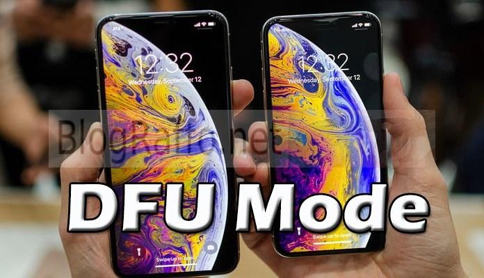 Come entrare in DFU Mode su iPhone XS e XS Max