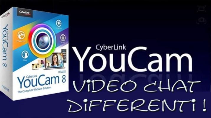 Youcam-8 videochat differenti