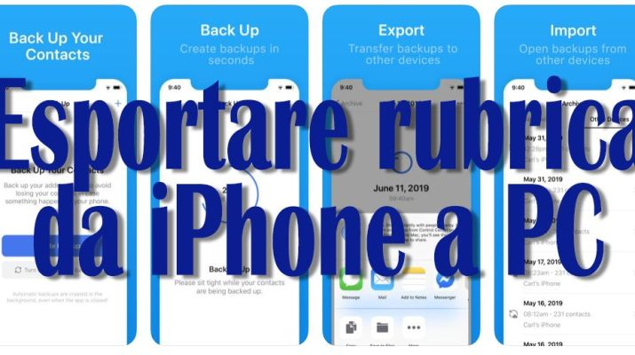 esportare-rubrica-da-iphone-a-pc