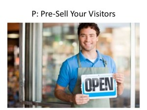 Pre-Sell Your Visitors