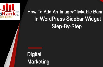 add-image-wordpress-sidebar Widget