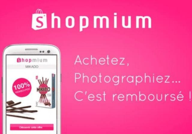 application Shopmium 2