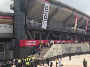 Columbia- national football stadium in Bogota